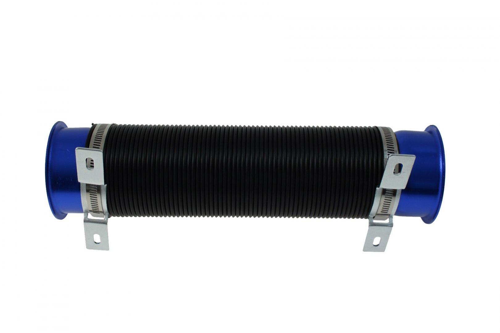 Przewód powietrza POWER+ 77mm BLUE - GRUBYGARAGE - Sklep Tuningowy